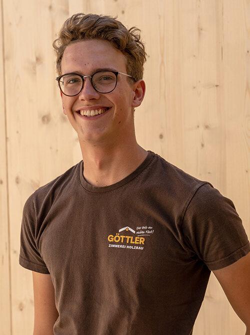 Portrait von Zimmerer Junior-Chef Jakob Motzet